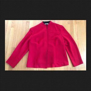 Amanda Smith Woman Red Blazer 18W